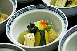 京料理の炊き合わせ